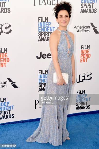 Actor Jenny Slate attends the 2017 Film Independent Spirit Awards at the Santa Monica Pier on February 25 2017 in Santa Monica California