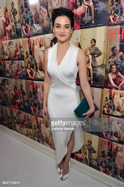 Actor Jenny Slate attends Vanity Fair and Lancome Toast to The Hollywood Issue at Chateau Marmont on February 23 2017 in Los Angeles California