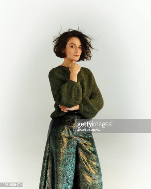 Actor Jenny Slate is photographed for Fashion magazine on September 28 2018 in Toronto Canada