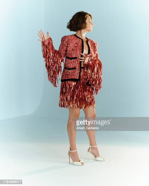 Actor Jenny Slate is photographed for Fashion magazine on September 28, 2018 in Toronto, Canada.