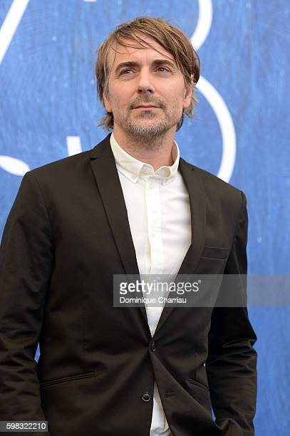 Actor Jens Harzer attends a photocall for 'Les Beaux Jours D'Aranjuez' during the 73rd Venice Film Festival at Palazzo del Casino on September 1 2016...