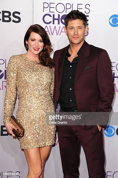 Actor Jensen Ackles and Daneel Harris attend the 2013 People's Choice Awards at Nokia Theatre LA Live on January 9 2013 in Los Angeles California