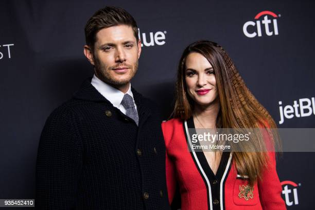 Actor Jensen Ackles and Danneel Ackles attend the Paley Center for Media's 35th Annual PaleyFest Los Angeles Supernatural at Dolby Theatre on March...
