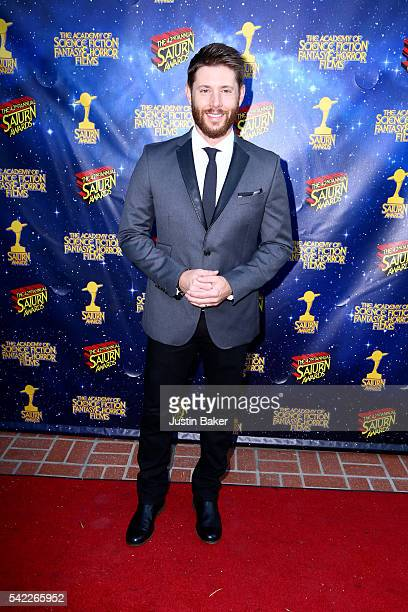 Actor Jensen Ackles arrives for the 42nd Annual Saturn Awards at The Castaway on June 22 2016 in Burbank California