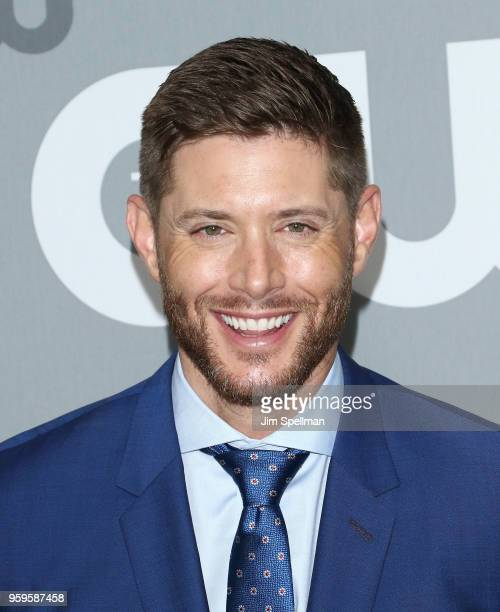 Actor Jensen Ackles attends the 2018 CW Network Upfront at The London Hotel on May 17 2018 in New York City