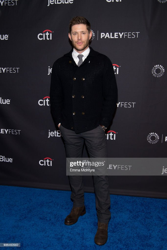 Actor Jensen Ackles attends the Paley Center for Media's 35th Annual PaleyFest Los Angeles 'Supernatural' at Dolby Theatre on March 20, 2018 in Hollywood, California.