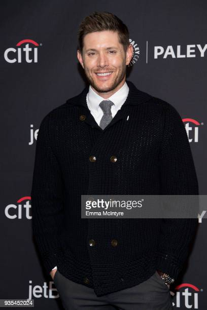 """Actor Jensen Ackles attends the Paley Center for Media's 35th Annual PaleyFest Los Angeles """"Supernatural"""" at Dolby Theatre on March 20, 2018 in..."""