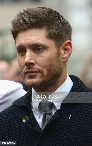 Actor Jensen Ackles attends The Paley Center For Media's 35th Annual PaleyFest Los Angeles Supernatural held at Dolby Theatre on March 20 2018 in...