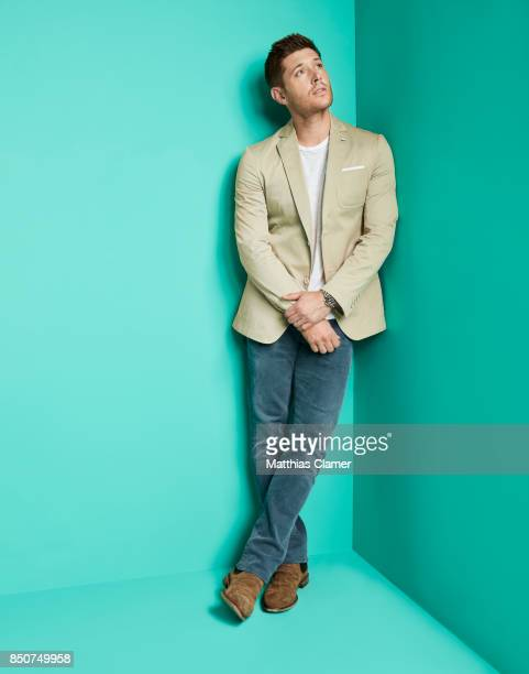 Actor Jensen Ackles from Supernatural is photographed for Entertainment Weekly Magazine on July 21 2017 at Comic Con in San Diego California...