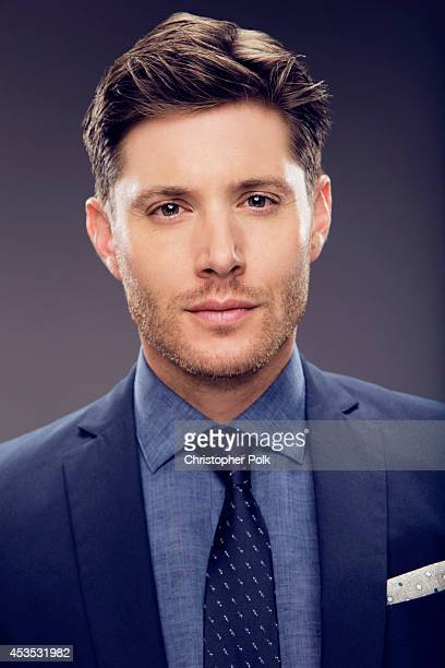 Actor Jensen Ackles poses for a portrait at CW network panel the Summer 2014 TCAs on July 18 2014 in Beverly Hills California