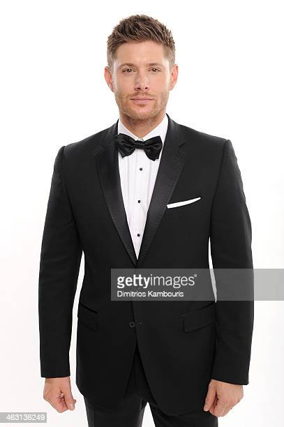 Actor Jensen Ackles poses for a portrait during the 19th Annual Critics' Choice Movie Awards at Barker Hangar on January 16 2014 in Santa Monica...