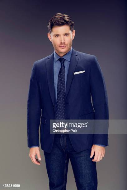 Actor Jensen poses for a portrait at the CW network panel at the Summer 2014 TCAs on July 18 2014 in Beverly Hills California