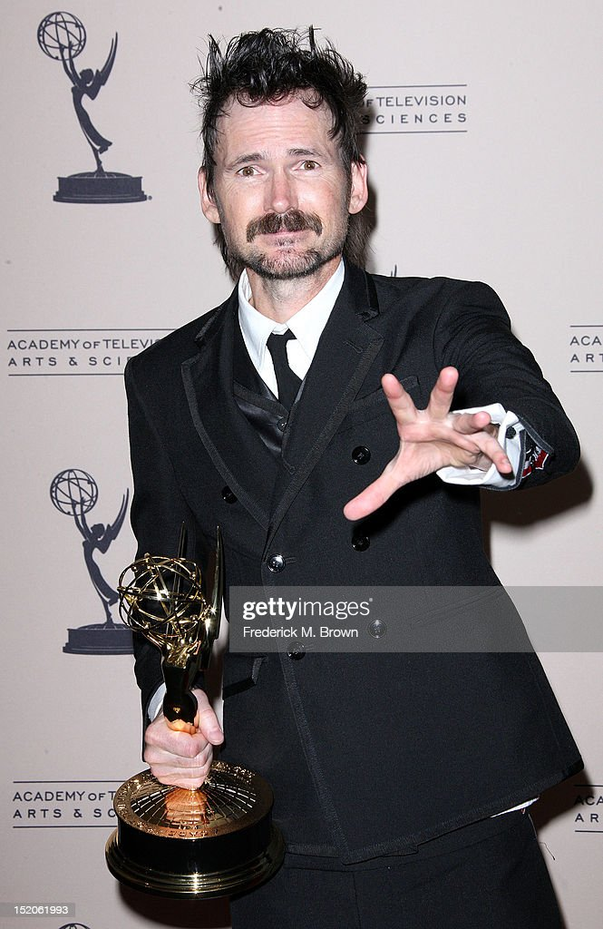 Actor Jeremy Davies attends The Academy Of Television Arts & Sciences 2012 Creative Arts Emmy Awards at the Nokia Theatre L.A. Live on September 15, 2012 in Los Angeles, California.
