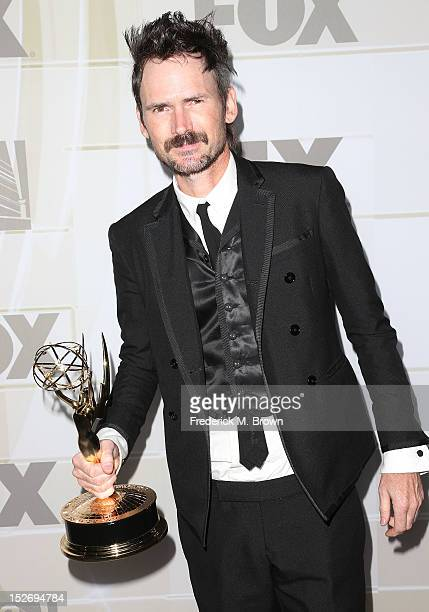 Actor Jeremy Davies attends the Fox Broadcasting Company Twentieth Century Fox Television And FX Celebrates Their 2012 Emmy Nominees at Soleto on...