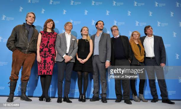 Actor Jeremy Irons actress Martina Gedeck director Bille August actress Melanie Laurent actor Jack Huston producer Peter Reichenbach coproducer Ana...
