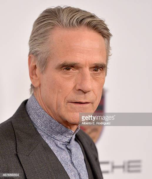 Actor Jeremy Irons arrives to AARP The Magazine's 14th Annual Movies For Grownups Awards Gala at the Beverly Wilshire Four Seasons Hotel on February...