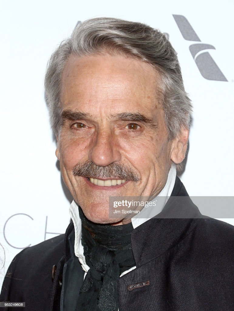 Actor Jeremy Irons attends the 45th Chaplin Award Gala honoring Helen Mirren at Alice Tully Hall on April 30, 2018 in New York City.