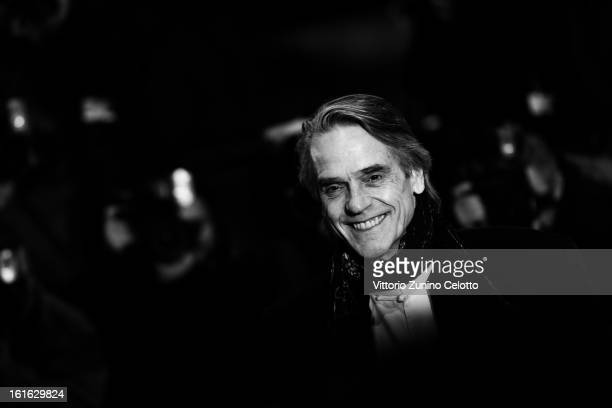Actor Jeremy Irons during the 63rd Berlinale International Film Festival at Berlinale Palast on February 12 2013 in Berlin Germany