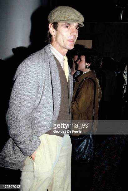 Actor Jeremy Irons in 1990 ca in London England