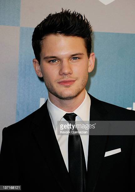 Actor Jeremy Irvine arrives at 13th Annual Warner Bros And InStyle Golden Globe Awards After Party at The Beverly Hilton hotel on January 15 2012 in...