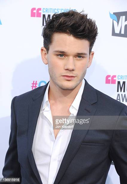 Actor Jeremy Irvine arrives at the17th Annual Critics Choice Movie Awards at The Hollywood Palladium on January 12 2012 in Los Angeles California
