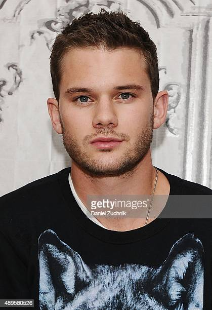 Actor Jeremy Irvine attends AOL Build to discuss his movie 'Stonewall' at AOL Studios on September 22 2015 in New York City