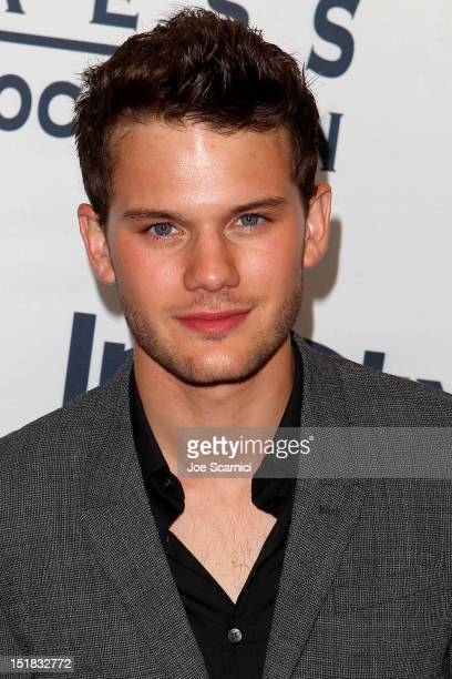 Actor Jeremy Irvine attends the WGC Hosts Party With InStyle HFPA To Celebrate TIFF at the Windsor Arms Hotel on September 11 2012 in Toronto Canada