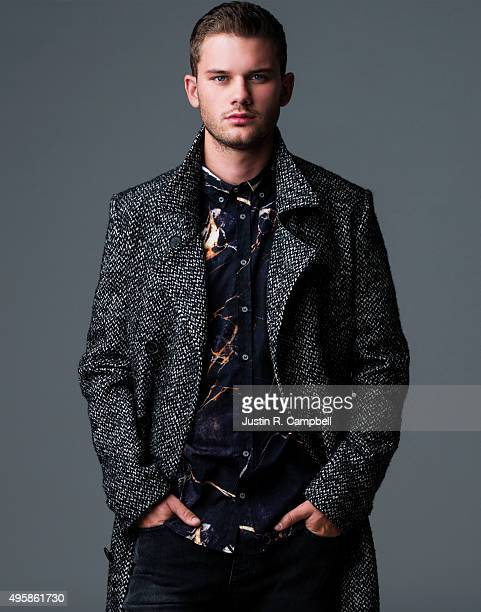 Actor Jeremy Irvine is photographed for Just Jared on September 24 2015 in Los Angeles California