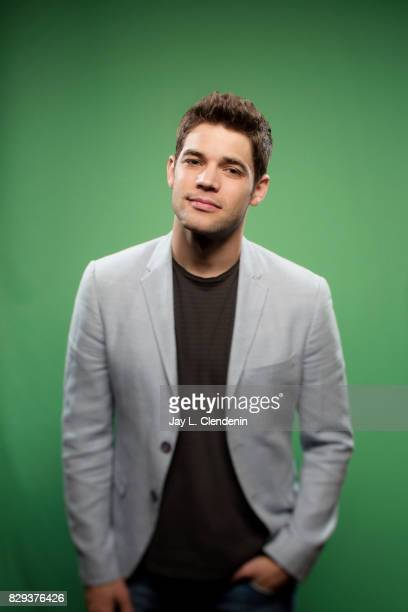 Actor Jeremy Jordan from the television series 'Supergirl' is photographed in the LA Times photo studio at ComicCon 2017 in San Diego CA on July 22...