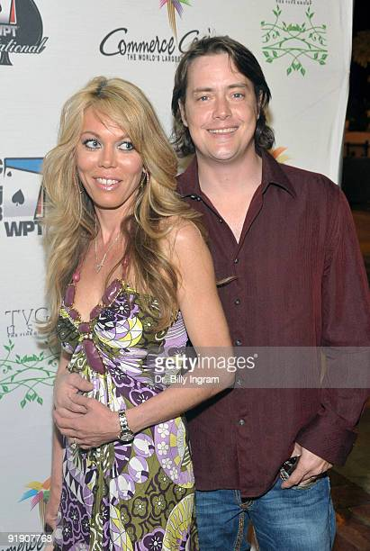 Actor Jeremy London and guest attend the 7th Annual World Poker Tour Invitational at Commerce Casino on February 28 2009 in Los Angeles California
