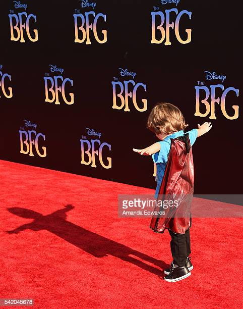 Actor Jeremy Maguire arrives at the premiere of Disney's The BFG at the El Capitan Theatre on June 21 2016 in Hollywood California