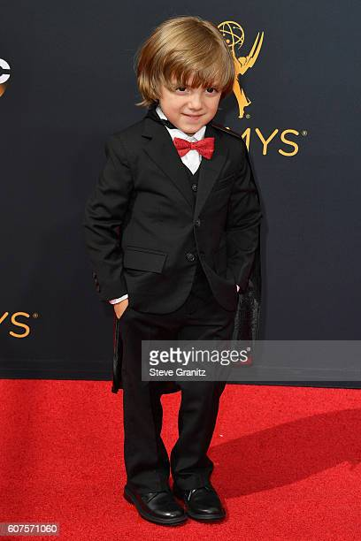 Actor Jeremy Maguire attends the 68th Annual Primetime Emmy Awards at Microsoft Theater on September 18 2016 in Los Angeles California