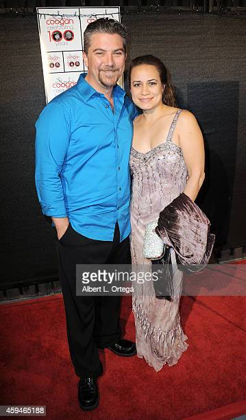Actor Jeremy Miller and wife Joanie Miller arrive for 100 Years Of Jackie Coogan With A Special Screening Of The Kid held at Arena Cinema Hollywood...