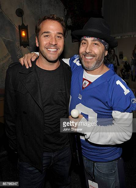 Actor Jeremy Piven and actor Josh Richman arrive at the I Heart Ronson launch party presented by Charlotte Ronson and JCPenney held at Bar Marmont on...