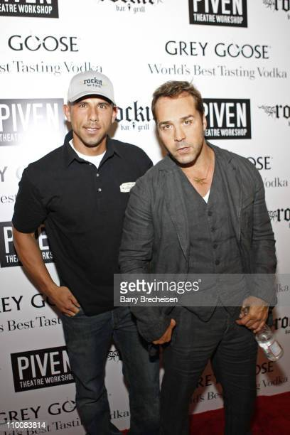 Actor Jeremy Piven and Billy Dec attends The Annual Piven Theatre WorkShop Sponsored By Grey Goose and Chicago Magazine at Rockit Bar & Grill on June...