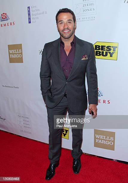 Actor Jeremy Piven arrives at the 11th annual Harold Pump Foundation Gala at the Hyatt Regency Century Plaza on August 3 2011 in Century City...