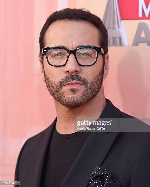 Actor Jeremy Piven arrives at the 2015 iHeartRadio Music Awards at The Shrine Auditorium on March 29 2015 in Los Angeles California