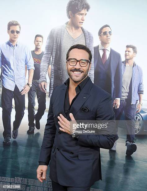 Actor Jeremy Piven arrives at the Los Angeles premiere of 'Entourage' at Regency Village Theatre on June 1 2015 in Westwood California