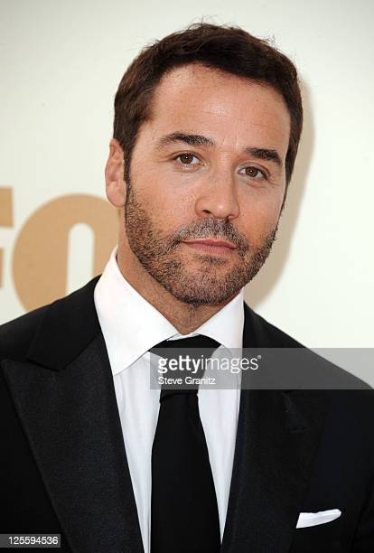 Actor Jeremy Piven arrives to the 63rd Primetime Emmy Awards at the Nokia Theatre LA Live on September 18 2011 in Los Angeles United States