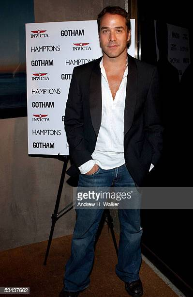 Actor Jeremy Piven attends a party for Entourage and Hamptons Magazine on August 18 2005 in New York City