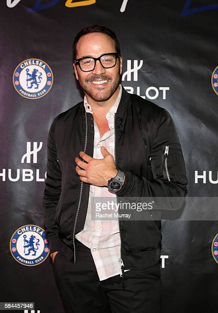 Actor Jeremy Piven attends Hublot x Chelsea FC event in Los Angeles at Sony Pictures Studios on July 28 2016 in Culver City California
