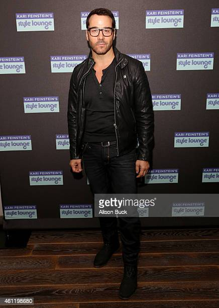 Actor Jeremy Piven attends Kari Feinstein's PreGolden Globes Style Lounge at Andaz West Hollywood on January 8 2015 in West Hollywood California