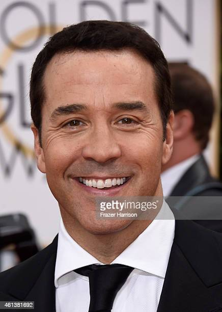 Actor Jeremy Piven attends the 72nd Annual Golden Globe Awards at The Beverly Hilton Hotel on January 11 2015 in Beverly Hills California