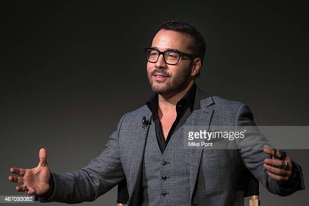 "Actor Jeremy Piven attends the Apple Store Soho Presents Meet The Cast: Jeremy Piven, ""Mr. Selfridge"" at Apple Store Soho on March 20, 2015 in New..."