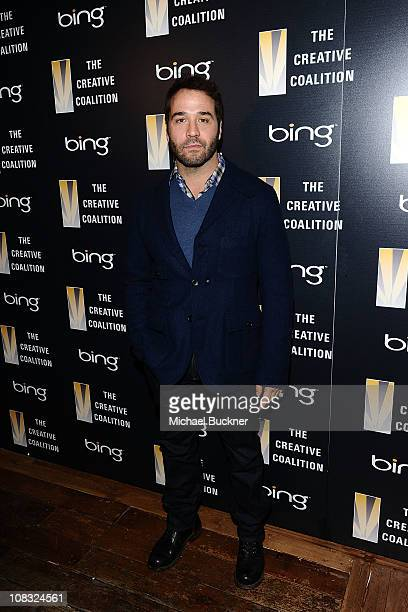 Actor Jeremy Piven attends The Creative Coalition's Teachers Making a Difference Luncheon Presented by Bing on January 25, 2011 in Park City, Utah.