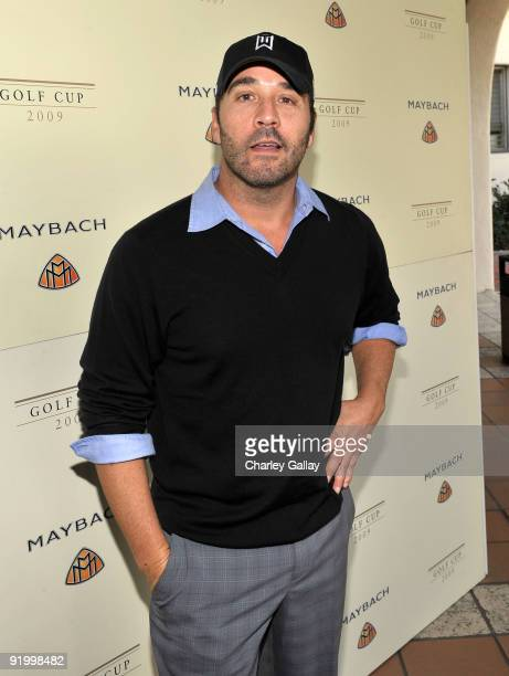 Actor Jeremy Piven attends the Maybach Golf Cup at Riviera Country Club on October 19, 2009 in Pacific Palisades, California.