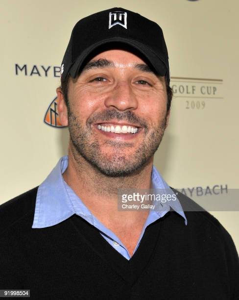 Actor Jeremy Piven attends the Maybach Golf Cup at Riviera Country Club on October 19 2009 in Pacific Palisades California