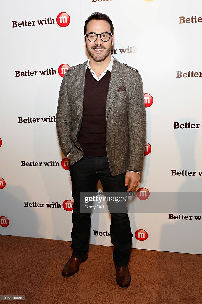 Actor Jeremy Piven attends the M&M's Better With M Party at The Foundry on January 31, 2013 in New Orleans, Louisiana.
