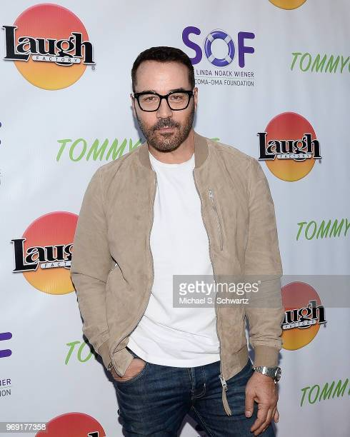 Actor Jeremy Piven attends the SarcomaOma Foundation Comedy Benefit at The Laugh Factory on June 6 2018 in West Hollywood California