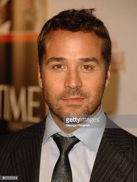 """Actor Jeremy Piven attends the Time Style & Design """"RocknRolla"""" After Party held at The Boiler House during the 2008 Toronto International Film..."""